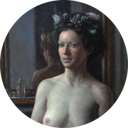 La Reine des Fees, oil on panel, 2009